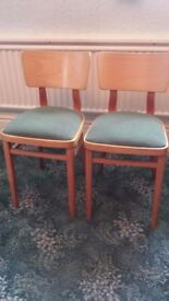 Steam Back Chairs (Two)