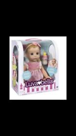 Brand new Luvabella doll and MLP pushchair
