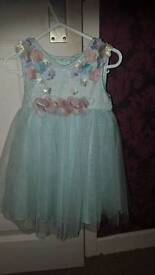 Beautiful occasion dress age 6-12 months