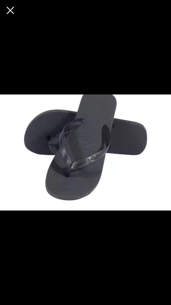 0f5a6d634 30 x Zohula black flip flops. Brand new in boxes. Wedding. Party. Event.