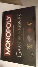Brand New Monopoly- Game of Thrones edition