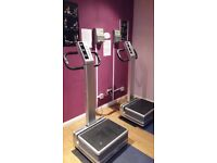 Two Flabelos Vibration plates & Two Token Boxes