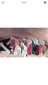 Baby girls clothes - bundle - 3-6 months