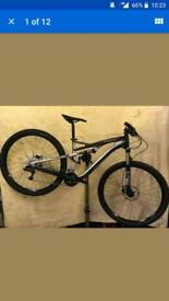Specialised camber 29 comp carbon fsr full suspension tubless mtb