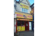 PIZZA TAKEAWAY PLUS FLAT PLUS UNIT BUSINESS AND LEASE FOR SALE