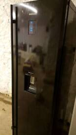Black samsung fridge