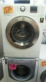 SAMSUNG 9KG 1400 SPIN WASHING MACHINE IN WHITE