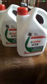 2x2L Castrol Engine oil 15W-40 £18