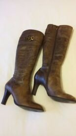 Ladies leather boots River Island size 6/39