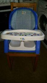 My first years Portable Highchair / Booster seat