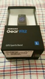 Samsung Gear Fit2 Large size new