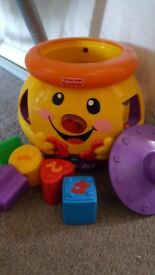 Fisher Price Toy Cookie Jar Shape Sorter