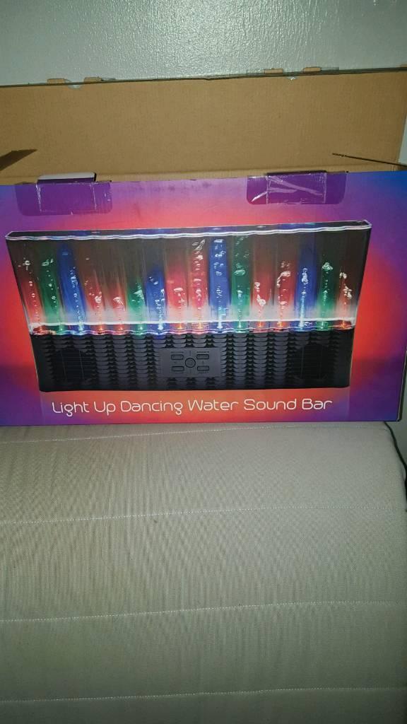 Light up water speaker
