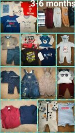 Various Boys clothes shoes and coats newborn - 18months