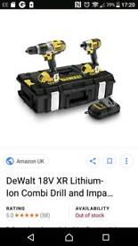 Dewalt drill set and dewalt nail gun