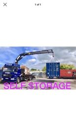 SELF STORAGE CONTAINERS £130PCM