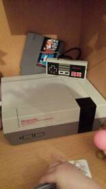 Classic Nintendo console