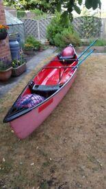Coleman 17ft Canoe