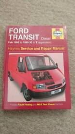 Ford Transit Haynes Manual