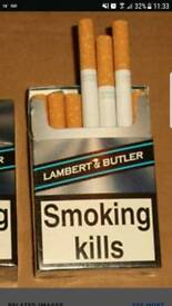 Lambert & butler ciggys x200
