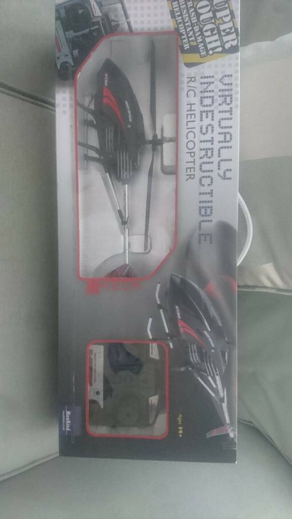M-TECH VIRTUALLY INDESTRUCTIBLE R/C HELICOPTER