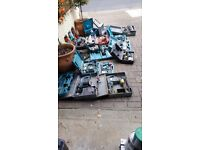 Assortment of 21 different Power Tools Sold as One Lot