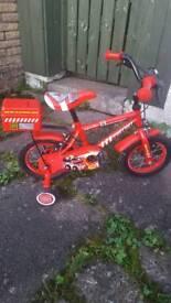 Appollo red Fire Chief children's bike