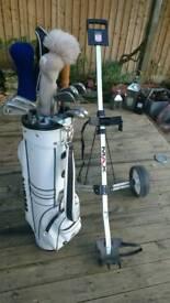 Ladies golf starter set & Caddy
