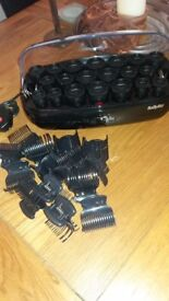 Hair rollers Babyliss Thermo-Ceramic Rollers only used once great item for Christmas