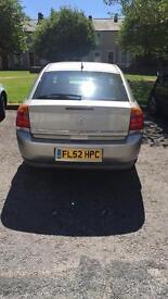 Vauxhall vectra 1.8 petrol 2002!! BARGAIN!