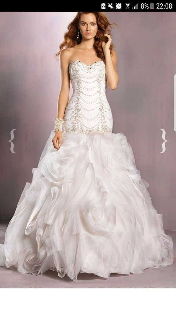Beautiful Alfredo Wedding Dress