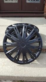 "15"" Black Wheel Trims"