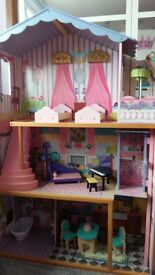 Girl's large dollhouse