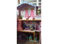 Girl's large dollhouse