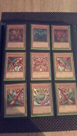 Rare Original Yugioh Card Collection Mint