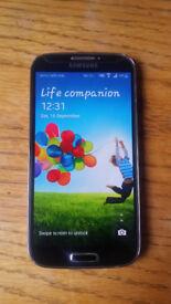 Samsung Galaxy S4 black(unlocked)16Gb