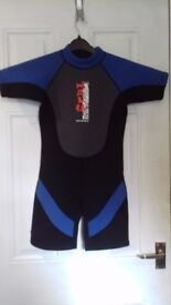 9-10 and 10-11 year shorty wetsuits ONLY £5 EACH