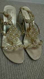 Stunning ladies designer heels size 7.