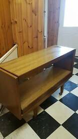 Retro 1970s hostess serving trolly/ table