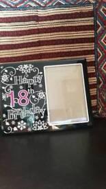 18th photo frame