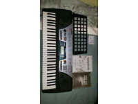 Yamaha PSR-175 (2003, Discontinued), EPA-3 AC/DC Power Adaptor, Music Rack, Songbook, Owner's Manual