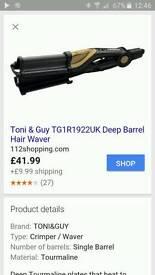 Toni & Guy Deep Barrel Hair Waver