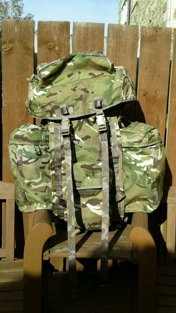 3eaef8eb440a British Army Rucksack Bergen Mtp 120 Ltr Longback