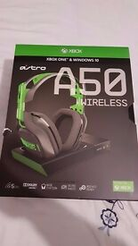 Astro A50 Gen 3 Wireless Headset Dolby Surround 7.1 Xbox One