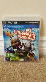 Little big planet 3 game for ps3