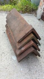 4X Ridge tiles free for collection