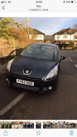 Peugeot 5008 7 seater automatic 2014
