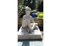 Garden statue plastic