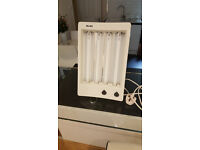 Balance Sun Lamp for tanning. Table top, 4 x 15w tubes, face tan - South London, Streatham SW16