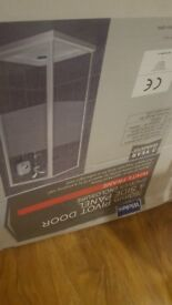 Shower door ( enclosure) with frame brand new in box